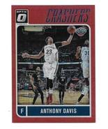2016-17 Donruss Optic Crashers Anthony Davis Red Prizm Insert Card-#/99 - $4.95