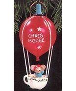 Hallmark Chris Mouse Flight (Light) #9 1993 Ornament QLX7152 - $9.80