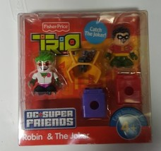 Fisher-Price TRIO DC Super Friends 2-Pack Figure Set - Robin & the Joker - $49.99
