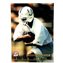 Marshall Faulk 1994 Bowman Rookie Card #2 NFL HOF Indianapolis Colts Rams - $7.87
