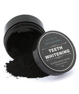 Organic Coconut Activated Charcoal Toothbrushes & Natural Teeth Whitenin... - $8.99