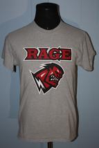 XFL Orlando Rage Plain Logo Gray Tee Shirt M #17 - $9.99