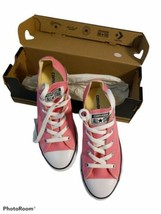 New Converse Girls Chuck Taylor All Star Classic 4-7 yrs Pink Sneaker  Y... - $19.80