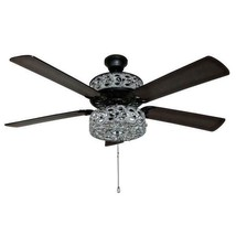 """PARTS ONLY - Replacement Fan Blades Gracie Grand 52"""" Ceiling Fan (Set of... - $24.74"""