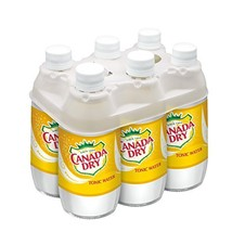 Canada Dry Tonic Water Bottles, 10 Ounce