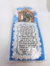 Dog Pin Always An Angel Vintage Brooch Poem 5147 - $14.39