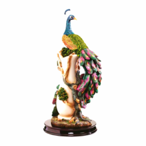 The Peacock's Garden Sculpture - $94.63