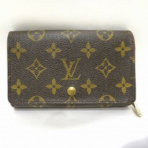 Louis Vuitton Porte monnaie billets Tresor M61730 Used Very good From Japan - $360.34