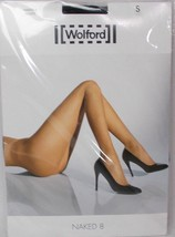 Wolford Naked 8 Tights Hosiery Black Size S - $29.65