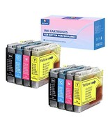 NEXTPAGE Compatible Replacement Ink Cartridges for Brother LC10 / LC37 /... - $19.06