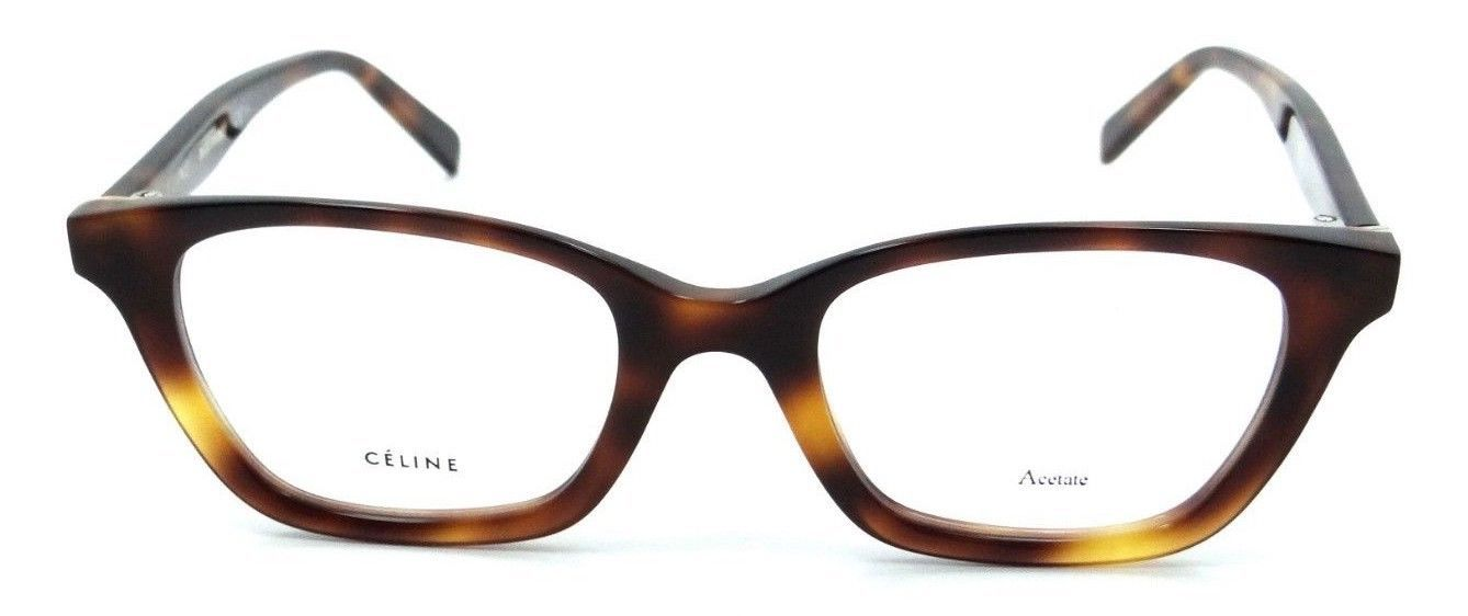 9c7242d34ca Celine Rx Eyeglasses Frames CL 41465 086 48-20-145 Dark Havana Made in