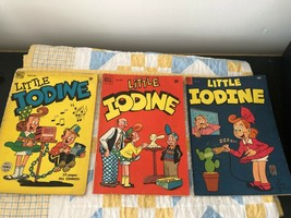 Lot Of 7 Little Iodine Comics # 1 5 21 25 28 31 33 Dell Jimmy Hatlo VG/F - $39.60