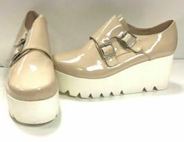 Qupid Damen Schuhe Mob 05, Hautfarben Pat PU, US 9 - $35.62