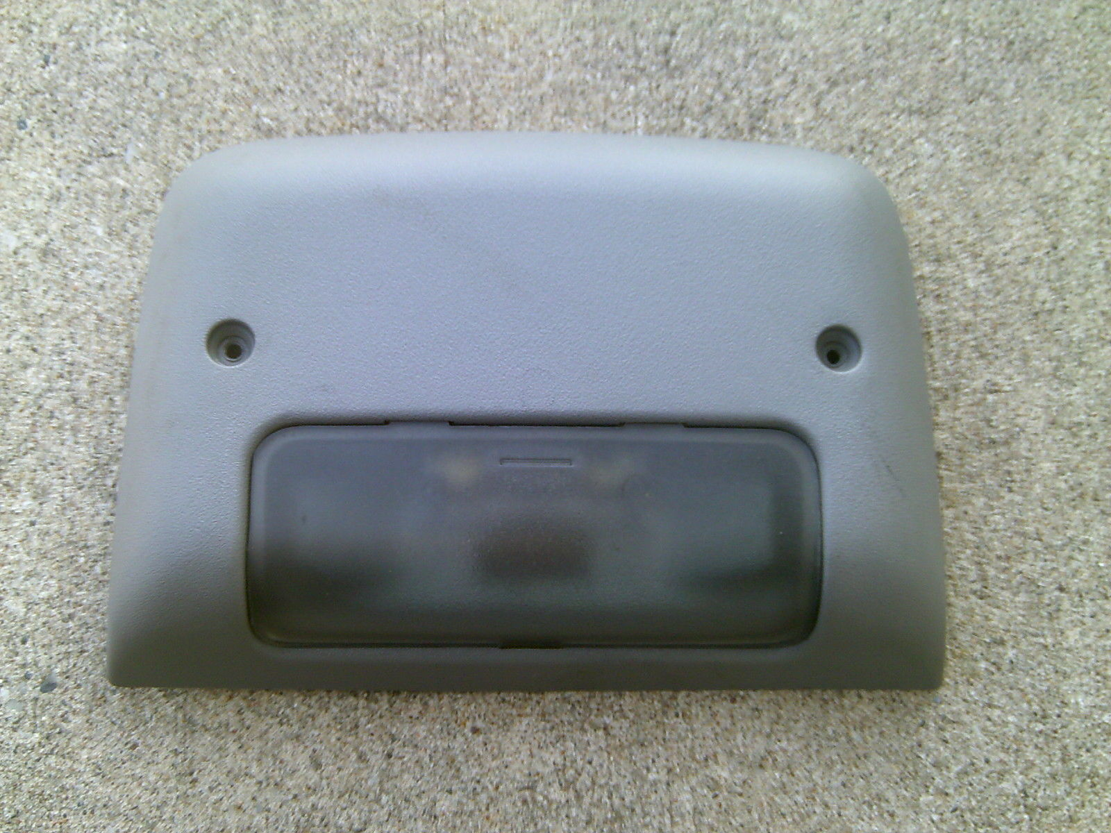 Primary image for 93-02 Camaro Firebird LIGHT GREY Interior Dome Light / BROKE GUIDE ON THE BACK