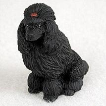 Poodle Black Tiny One Figurine - $9.99