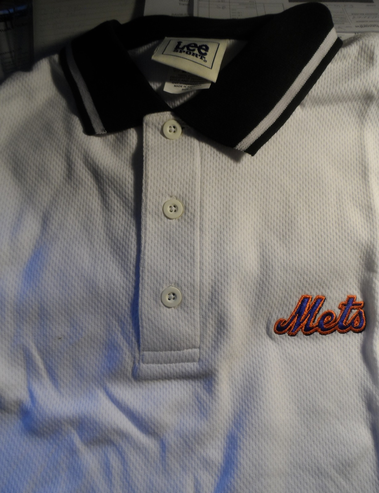22582517e New York Mets Large Lee Sport Dress Shirt and 50 similar items