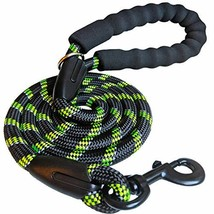 iYoShop Strong Dog Leash with Comfortable Padded Handle and Highly Reflective Th