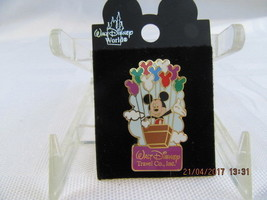 WDW  2002 MICKEY WITH MICKEY BALLOONS LIMITED EDITION PIN - $15.00