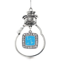 Inspired Silver Let It Go Classic Snowman Holiday Decoration Christmas Tree Orna - $14.69