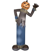 Holiday Living 12-ft x 5.54-ft Lighted Scarecrow Halloween Inflatable - $119.10