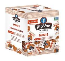 Rip Van Wafels Rip Van Wafels Non-GMO, Low Calorie & Low Sugar Snack Wafels, Sni