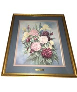 GLYNDA TURLEY Pretty Pickings II Hand Signed Numbered Framed Limited Edi... - $249.99