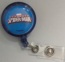 Marvel Spider Man Clip badge reel key card ID holder lanyard retractable... - $8.75