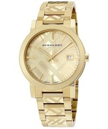 Burberry Women's Watch BU9234 Swiss Gold Ion-Plated Stainless Steel Brac... - $199.00