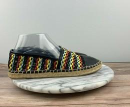 Circus by Sam Edelman Lena Womens 8 Multicolor Mesh Slip On Flat Espadrilles - $29.95
