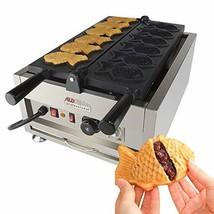 Taiyaki Fish Waffle Maker 110V | ALDKitchen 6 pcs Commercial Use Jam Waf... - ₹47,960.32 INR