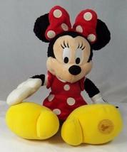 """Minnie Mouse Plush Toy Disney Parks Authentic Original 19"""" Disneyland Excellent - $19.34"""