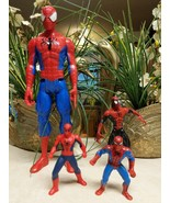 4 Various Spiderman Action Figures - $9.49