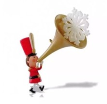 "Hallmark Limited Edition Ornament ""Sound The Trumpet"" New Free Shipping - $14.95"