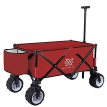 BXL Heavy Duty Collapsible Folding Garden Cart Utility Wagon for Shoppin... - $170.88