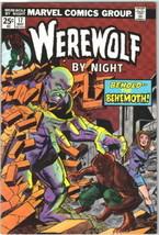 Werewolf By Night Comic Book #17 Marvel Comics 1974 VERY FINE+ - $22.17