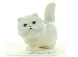 Hagen Renaker Miniature Cat Fat White Persian Ceramic Figurine