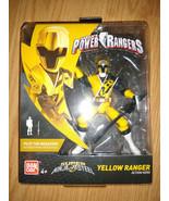 Sabans Super Ninja Steel Power Rangers Yellow Ranger by Bandai - $27.72