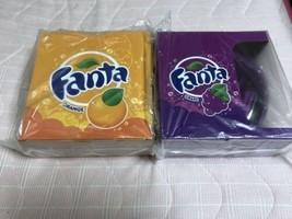 Fanta headphones Orange Grape set Amusement Prize NOT FOR SALE Coca Cola - $98.01