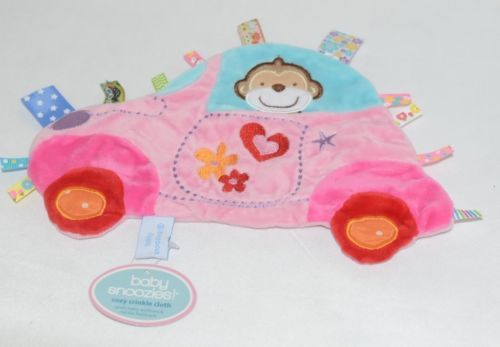 Baby Snoozies BTCTC05 Car Cozy Crinkle Cloth Auditorty Tactile Feedback
