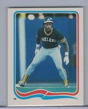 RICKEY HENDERSON 1985 Fleer Star Stickers #54   D8068 - $3.15