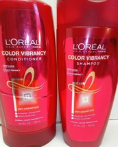 L'Oreal Paris 25.4 Oz Elvive Color Vibrancy Protecting Shampoo & Conditioner Set - $20.18