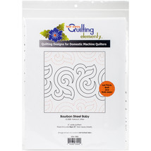 Quilting Creations Printed Tear Away Quilting Paper 4/Pkg-Bourbon Street... - $14.68