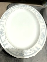 """New Sheffield Blue Whisper 14"""" Oval Serving Platter WHS-22 Tray made in Japan - $21.79"""