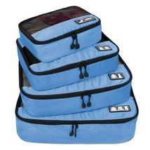 Cubes Travel Luggage Packing Set Organizers Laundry Bag Breathable Organ... - £28.40 GBP