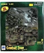 Combat Zone Army Play Set 1:32  Military Jet Action Figure Royal Navy Ne... - $39.59