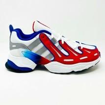 Adidas EQT Gazelle White Red Blue Kids Youth Basketball Shoes EG6480 - $49.95