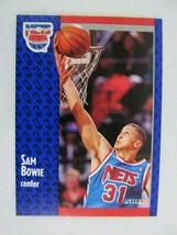 Sam Bowie New Jersey Nets 1991 Fleer Basketball Card 129 - $0.98