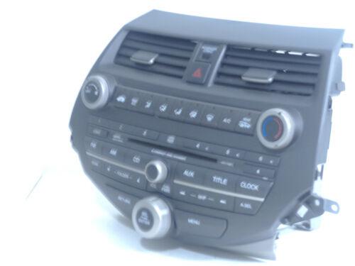 08-12 HONDA ACCORD RADIO 6 CD MP3 PLAYER  OEM 39101-TA0-A313-M1