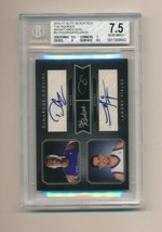 2010 Elite Black Box Rookie Auto Dual /25 Demarcus Cousins Landry Fields... - $85.00
