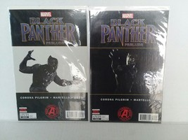 Black Panther: #! And Reprint + Black Panther Coloring Book - Free Shipping - £11.32 GBP